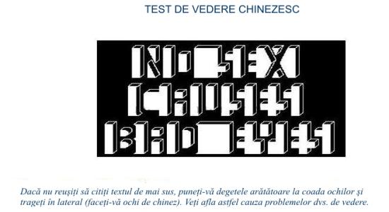 test_de_vedere_chinezesc