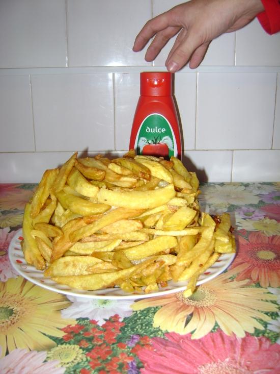 cartofii prajiti, cea mai buna mancare