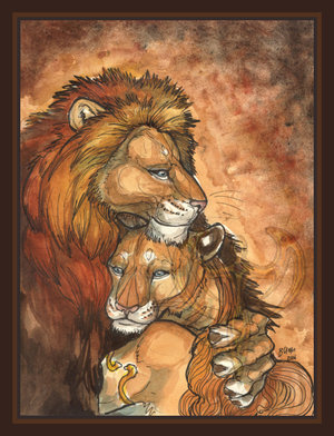 Lion_Lovers_by_akeyla
