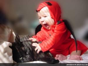 poze-haioase-bebelusi-pisici-negre