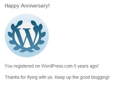 5 ani blogging