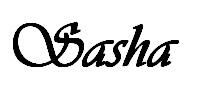 sasha signature